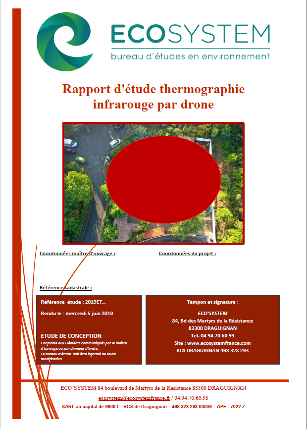 Rapport Thermique Wairdrone Ecosystem