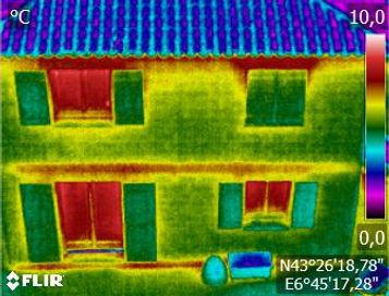 Thermographie façade