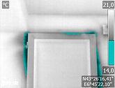 Thermographie porte intérieure