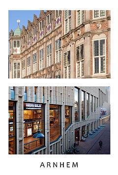 beeldrijm-ansichtkaarten Arnhem