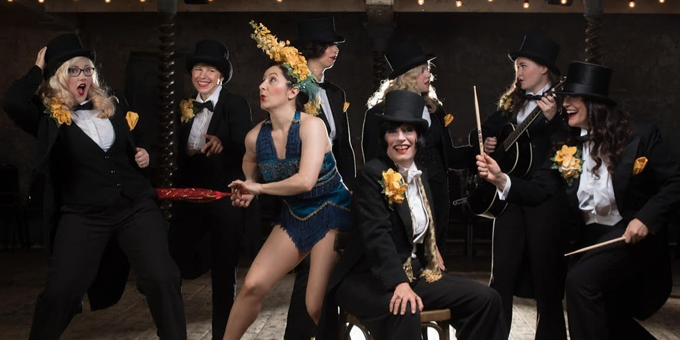 Tricity Vogue's All Girl Swing Band.