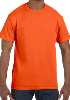 Adult Unisex T-Shirt 5.3 oz. Orange