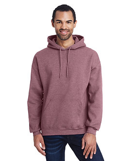 Gildan Adult Hood SweatShirt ht sp drk maroon