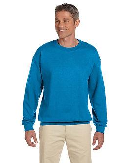 Adult Unisex Fleece Crew Sapphire
