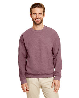 Adult Unisex Fleece Crew HT SP DRK MAROON