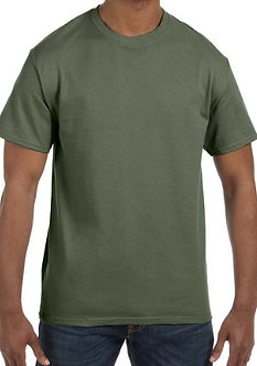 Adult Unisex T-Shirt 5.3 oz. Military Green