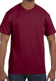 Adult Unisex T-Shirt 5.3 oz. Cardinal Red