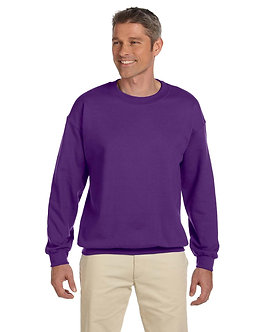 Adult Unisex Fleece Crew Purple