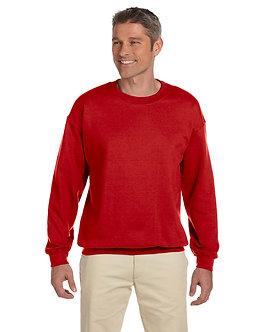 Adult Unisex Fleece Crew Cherry Red