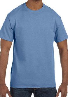 Adult Unisex T-Shirt 5.3 oz. Carolina Blue