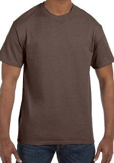 Adult Unisex T-Shirt 5.3 oz. Brown