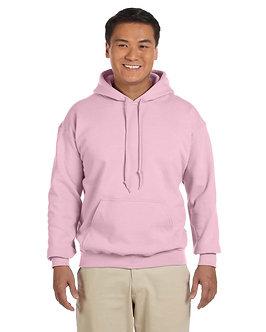 Gildan Adult Hood SweatShirt Light Pink