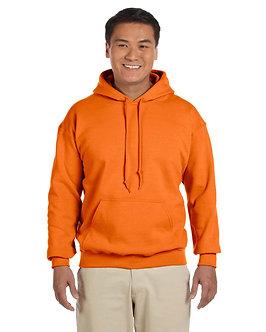 Gildan Adult Hood SweatShirt S Orange