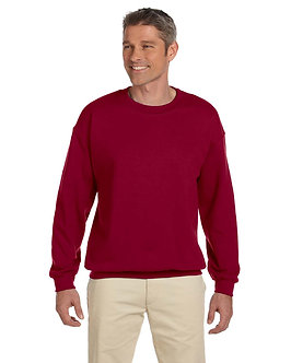 Adult Unisex Fleece Crew Cardinal Red