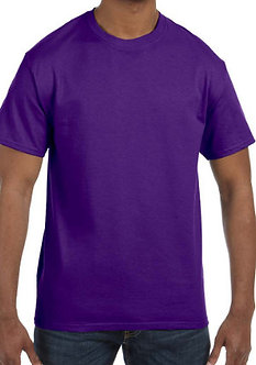 Adult Unisex T-Shirt 5.3 oz. Purple