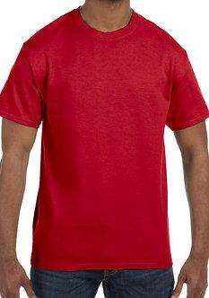 Adult Unisex T-Shirt 5.3 oz. Red