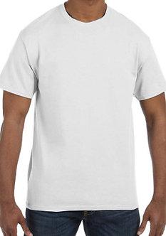 Adult Unisex T-Shirt 5.3 oz. White