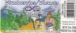 Blueberries Box
