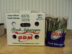 Asparagus in a box