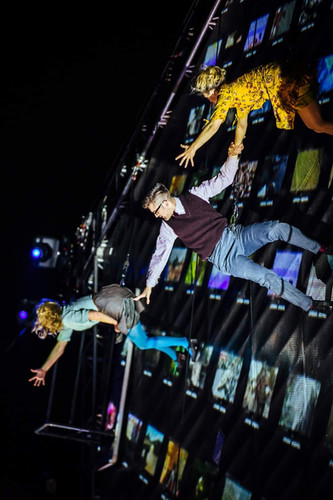 Production: As The World Tipped (Wired Aerial Theatre) Photography: Wentworth Woodhouse WE Wonder Festival Noir