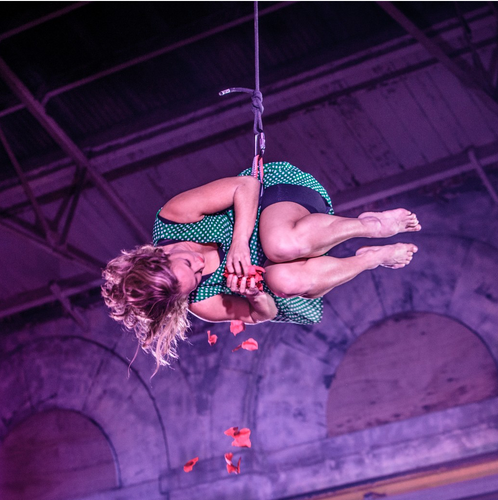 Production: Children In Need (Yskynna Vertical Dance) Photographer: Guy Harris