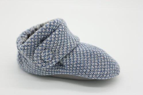 Briar Blue  White Check
