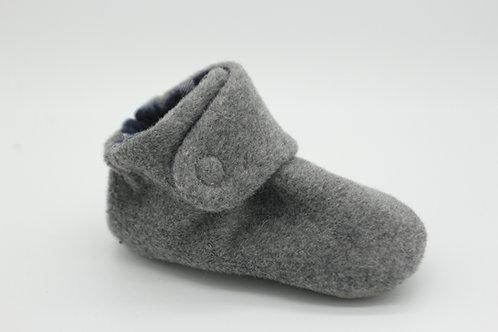 Briar Grey Wool Coat