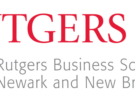 The Rutgers Business School Joins as a Platinum Sponsor!