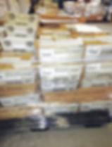 pallets of client's checks.jpg