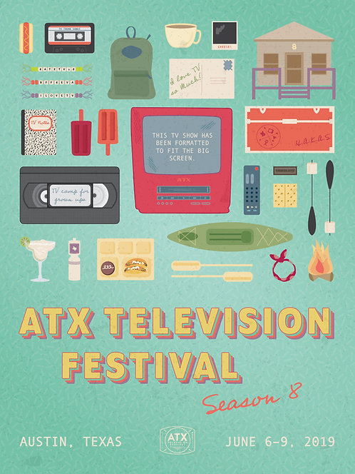 ATX Festival Season 8 Poster (2019)