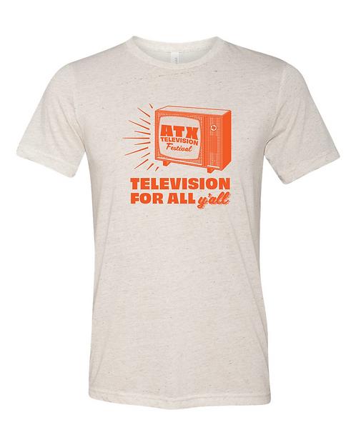 TV For All Tee - Unisex Crew Neck