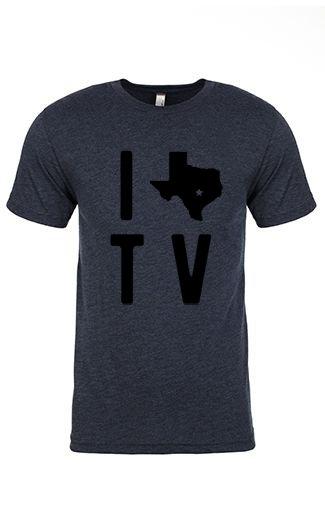 I TEXAS TV 2.0 Tee - Unisex Crew Neck