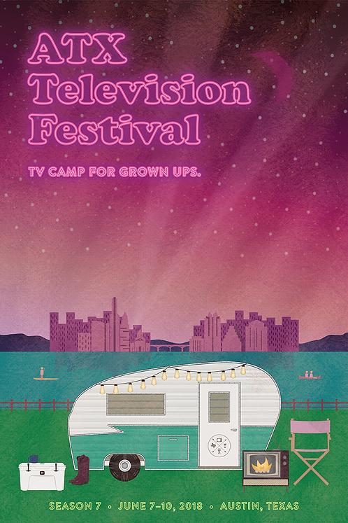 ATX Festival Season 7 Poster (2018)