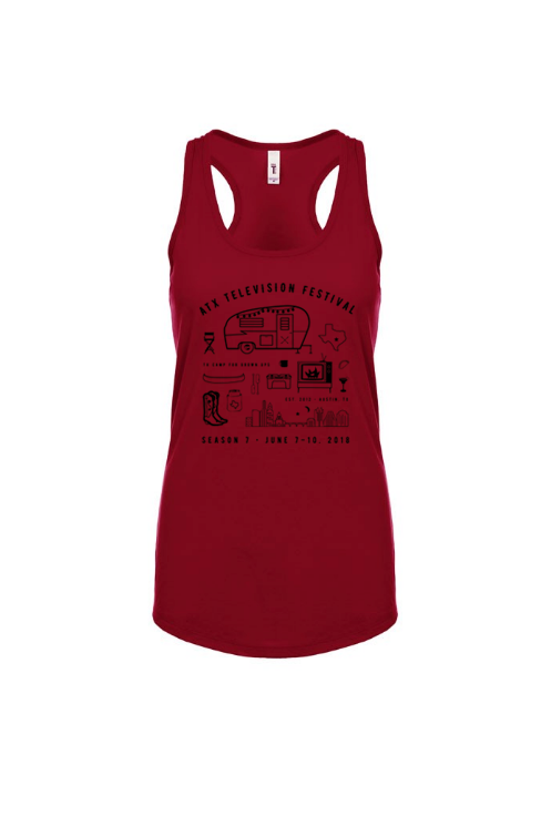 TV CAMP FOR GROWN UPS Tank - Ideal Racerback
