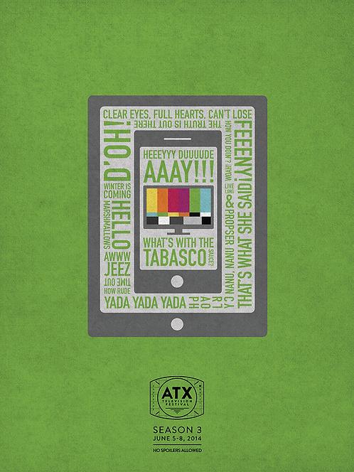 ATX Festival Season 3 Poster (2014)