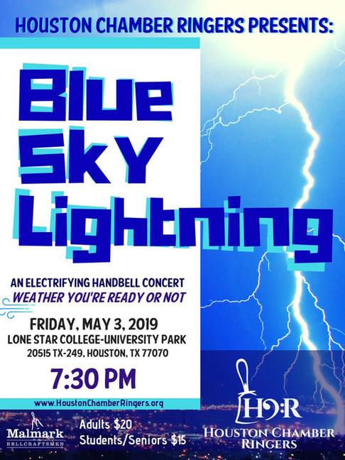 Blue Sky Lightning