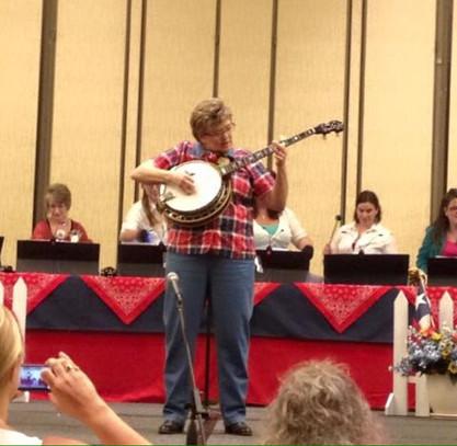 Banjo and bells