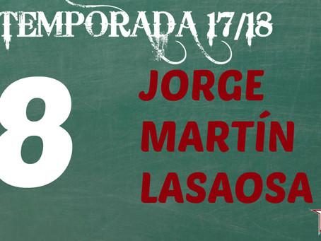 Jorge Martín, con ganas de ser blanquirrojo en el Segunda Nacional