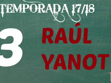 Raúl Yanot, otro Junior que se queda como blanquirrojo