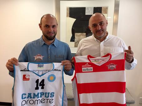 "Logrobasket Club primer ""Club amigo"" del Club Deportivo Promete"