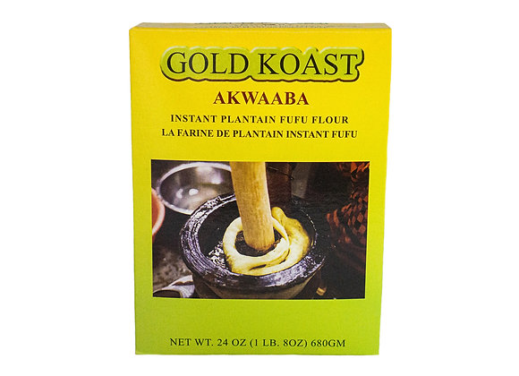 Gold Koast Plantain Fufu
