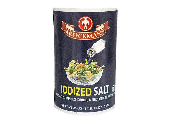 Rockman Iodized Salt