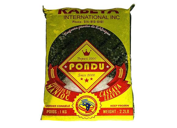 Pondu, Cassava Leaves