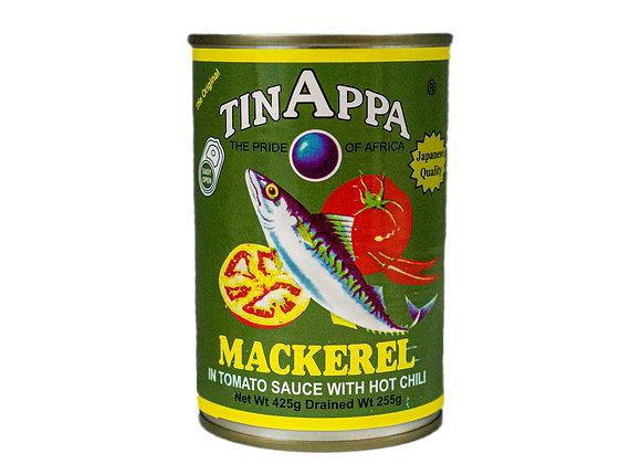 Tinappa Mackerel with Hot Chili