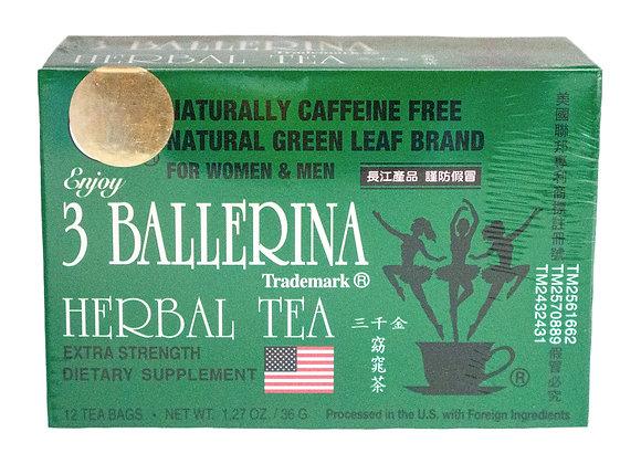 3 Ballerina Herbal Tea