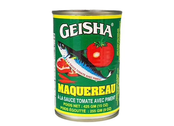 Geisha Maquereau with Hot Chili