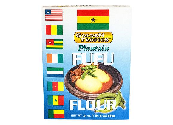 Golden Tropics Plantain Fufu