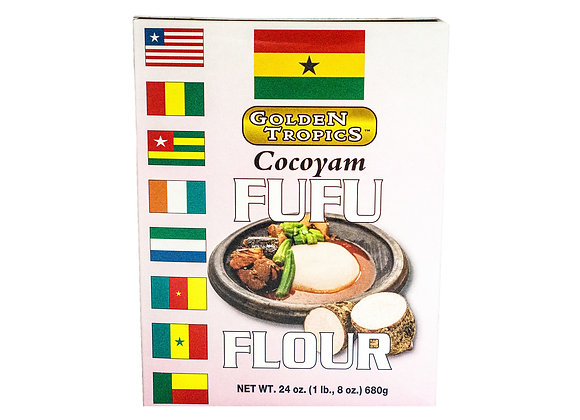 Golden Tropics Cocoyam Fufu