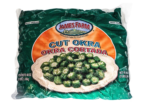 James Farm Cut Okra