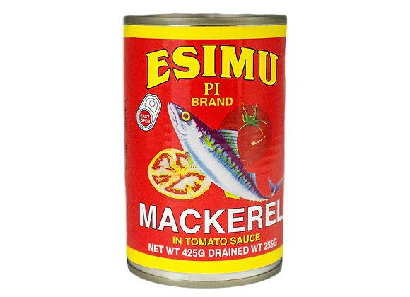 Esimu Mackerel in Tomato Sauce